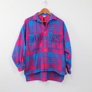 United colors of Benneton vintage vivid flannel